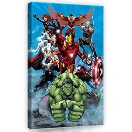 Avengers canvas Hulk