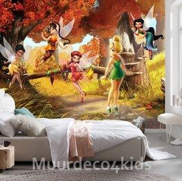 Disney Fairies fotobehang Magisch Bos