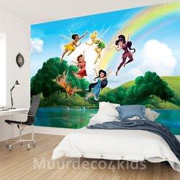 Disney Fairies fotobehang XL Regenboog