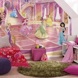 Disney Princess behang Glitterparty