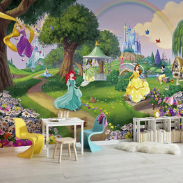 Disney Princess fotobehang Rainbow