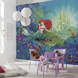 Ariel fotobehang Castle XL