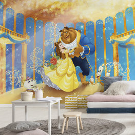 Beauty and the Beast fotobehang XL