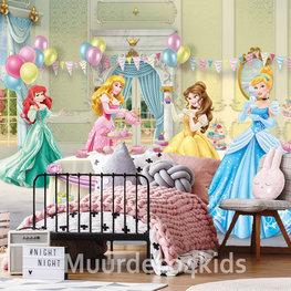 Disney Princess behang Party Time