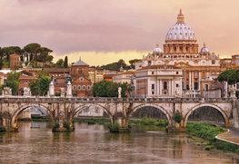 Rome fotobehang Engelenbrug