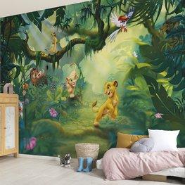 Lion King Jungle fotobehang XL