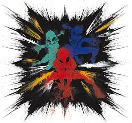 Spiderman behang Color Explosion