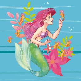 Ariel behang Little Friends