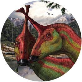 Behangcirkel dinosaurus - Tsintaosaurus