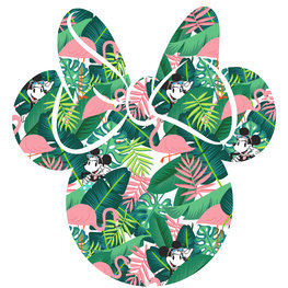 Minnie Mouse muursticker Tropical Head
