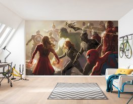 Avengers fotobehang Final Battle