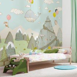 Kinderkamer behang Mountain Traveler