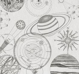Heelal behang Kosmos Schets