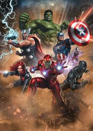 Avengers behang Superpower