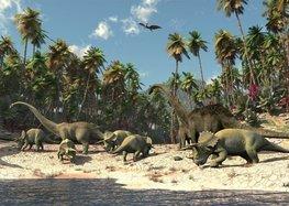 Dinosaurus fotobehang L vlies