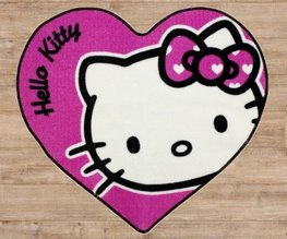 Hello Kitty vloerkleed Hart