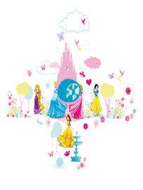 Disney Princess muurstickers + deurbel