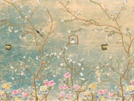 Vintage Garden behang XL