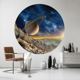 Behangcirkel Space