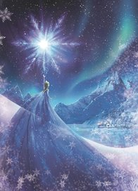 Frozen fotobehang Snow Queen