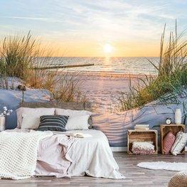 Strand behang Zonsondergang