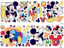Mickey Mouse muurstickers Decofun