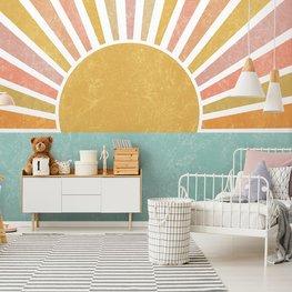 Vector behang Sunrise