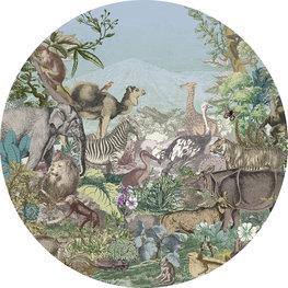 Behangcirkel Animal Kingdom