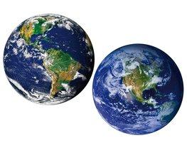 Wereldbol muurstickers Aarde XL