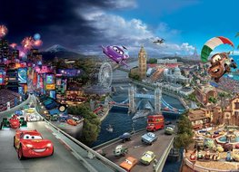 Disney Cars fotobehang Multi XL