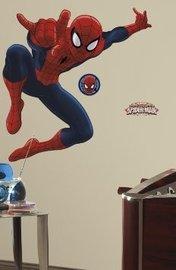 Spiderman maxi muursticker