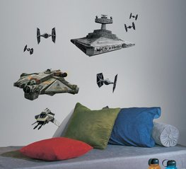 Star Wars Rebels maxi muurstickers Ships