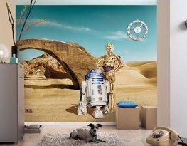 Star Wars fotobehang Lost Droids