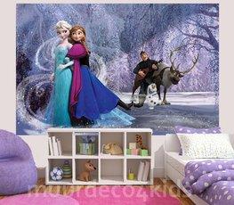 Frozen fotobehang Elsa en Anna L