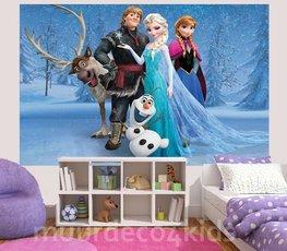 Frozen fotobehang Family L