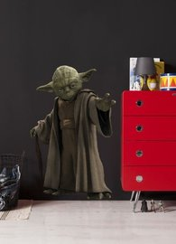 Star Wars muursticker Yoda XL