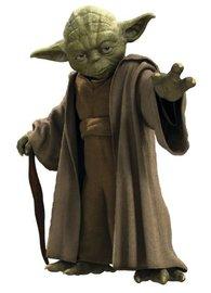 Star Wars muursticker Yoda XL