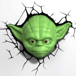 Star Wars 3d lamp Yoda
