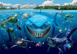 Finding Nemo fotobehang Bruce L
