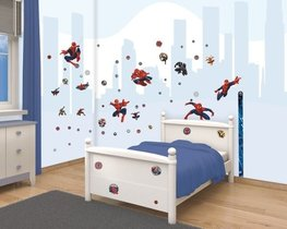 Spiderman muurstickers Web Warriors - WT