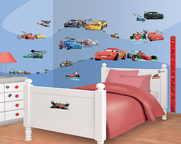 Disney Cars muurstickers WT