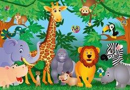 Jungle fotobehang In de Jungle XL