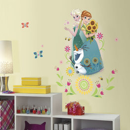 Frozen Fever maxi muursticker