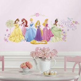 Disney Princess muurstickers