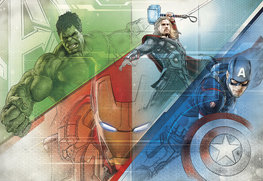 Avengers fotobehang Graphic Art XL