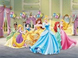 Disney Princess behang Party XL
