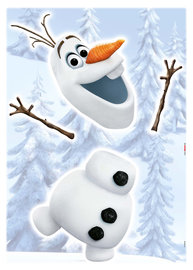 Frozen muursticker OLAF