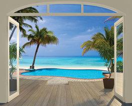 Paradise Beach fotobehang - WT