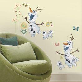 Frozen Fever muursticker Olaf