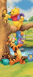 Winnie the Pooh deurposter vliesbehang